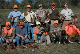 hunting group three